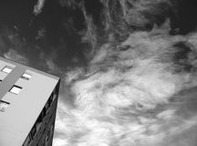 Monochrome Photography of Clouds Royalty Free Stock Images