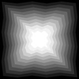 Monochrome  Polygonal Abyss Gently Shimmering from dark to light.  Geometric Abstract Background Royalty Free Stock Photo