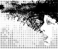 Monochrome portrait Royalty Free Stock Photos