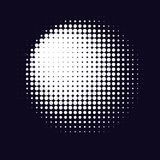 Monochrome printing raster. Abstract vector halftone background. royalty free illustration