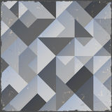 Monochrome retro geometric background Royalty Free Stock Photo