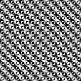 Monochrome retro op pattern Stock Image