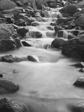 Monochrome river Stock Photography
