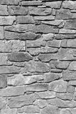 Monochrome rock wall Royalty Free Stock Image