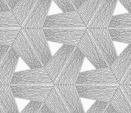 Monochrome rough striped tetrapods Stock Images
