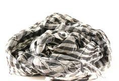 Monochrome scarf Stock Image