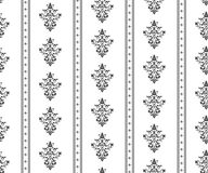 Monochrome seamless classic pattern Stock Photo