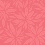 Monochrome seamless floral decorative pattern Royalty Free Stock Photography