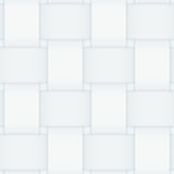Monochrome seamless interwoven paper stripe pattern Royalty Free Stock Photos