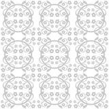 Monochrome seamless pattern Stock Image