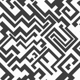 Monochrome seamless pattern. (eps 10 Royalty Free Stock Photography