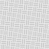 Monochrome seamless pattern in asian style with perpendicular rectangles Stock Photography