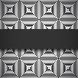 Monochrome seamless pattern Royalty Free Stock Photos
