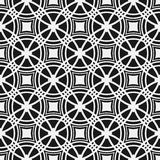 Monochrome seamless pattern. Geometric simple repetitive background. Royalty Free Stock Photo