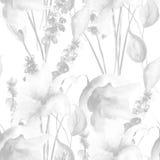 Monochrome seamless pattern Royalty Free Stock Image