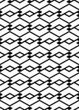 Monochrome seamless pattern with parallel lines, black and white Royalty Free Stock Photo