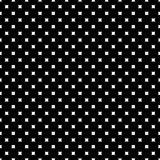 Monochrome seamless pattern, rounded squares Royalty Free Stock Photos