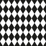 Monochrome seamless pattern in 80s style. For your decoration Stock Photography