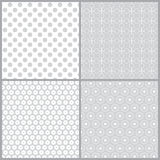 Monochrome seamless pattern Stock Photos