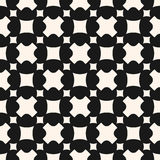 Monochrome seamless pattern. Stylish geometric texture, crosses, Royalty Free Stock Photography