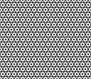 Monochrome seamless pattern, texture with hexagons, ornamental texture Royalty Free Stock Images