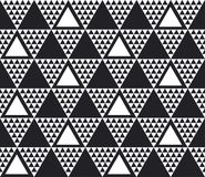 Monochrome seamless pattern vector illustration Stock Photography