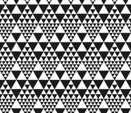 Monochrome seamless pattern vector illustration Royalty Free Stock Image