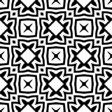 Monochrome seamless pattern in white background. This vector pattern is for website background, wallpaper, screen sever, book cover, screen printing, laser Stock Image
