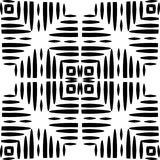 Monochrome seamless pattern in white background. This vector pattern is for website background, wallpaper, screen sever, book cover, screen printing, laser Royalty Free Stock Images