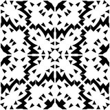 Monochrome seamless pattern in white background. This vector pattern is for website background, wallpaper, screen sever, book cover, screen printing, laser Stock Images