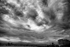 Monochrome skies