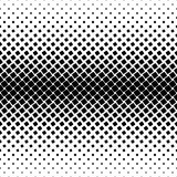 Monochrome square pattern - abstract vector background illustration from angular rounded squares. Monochrome square pattern - geometrical halftone abstract Royalty Free Stock Image