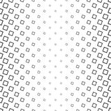 Monochrome square pattern - abstract vector background illustration from angular squares. Monochrome square pattern - geometrical abstract vector background Stock Photos