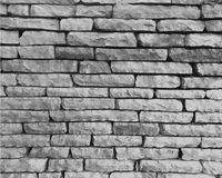 Monochrome stone wall Stock Images