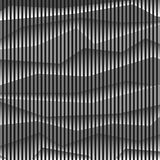 Monochrome striped abstract background Royalty Free Stock Images
