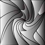 Monochrome tessellating background. Abstract distorted pattern Royalty Free Stock Image