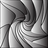 Monochrome tessellating background. Abstract distorted pattern Stock Photography