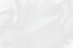 Monochrome texture background of spots halftone. Background for prepress, DTP, comics, poster. Pop art style template Stock Image