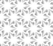 Monochrome three pedal brushed flowers Royalty Free Stock Photography