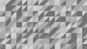 The Monochrome Triangles Background stock footage