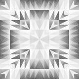 Monochrome Tribal Seamless Pattern. Aztec Style Abstract Geometric Art Print. Royalty Free Stock Photos