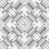 Monochrome Tribal Seamless Pattern. Aztec Style Abstract Geometric Art Print. Stock Photography