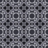 Monochrome universal vector seamless patterns, tiling. Geometric ornaments. Royalty Free Stock Photos