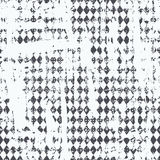 Monochrome urban seamless pattern. Royalty Free Stock Photo