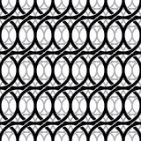 Monochrome vintage style netting seamless pattern. Royalty Free Stock Photo