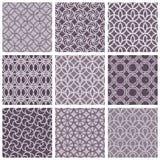 Monochrome violet vintage style tiles. Royalty Free Stock Photos