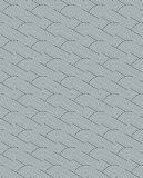 Monochrome wavy seamless pattern with concentric circles and stripes royalty free illustration