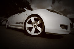 Monochrome wheel Royalty Free Stock Images