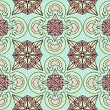 Monochromic patroon 1 Stock Illustratie