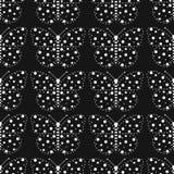Monochromu wzór motyle Fotografia Stock